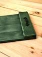 Oldwooddesign Eskitme Doğal Tepsi Yeşil Yeşil